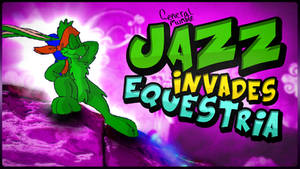 Jazz Invades Equestria - song art by Poowis