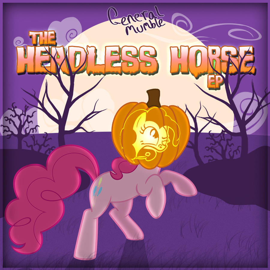 The Headless Horse EP - cover art by Poowis