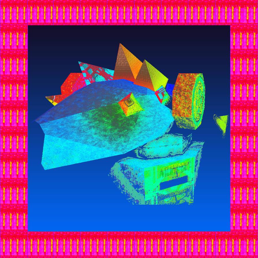 MUM-B1 - PEGASII DOGGE AM | Album artwork by Poowis