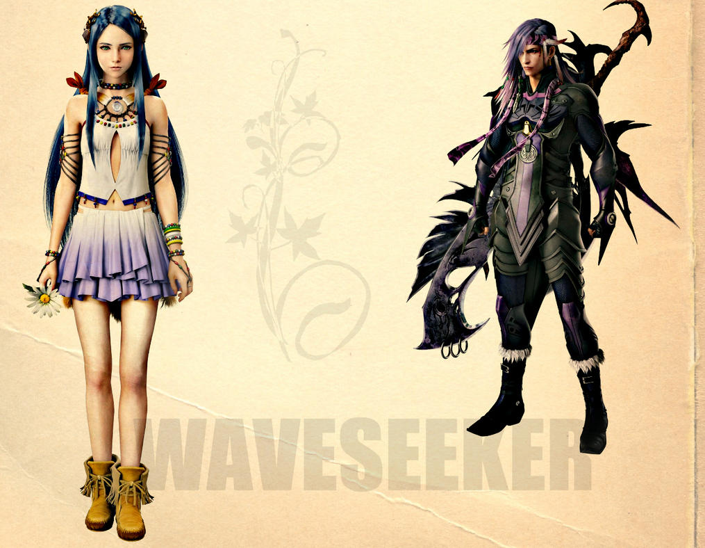Yeul and Caius by WaveSeeker90