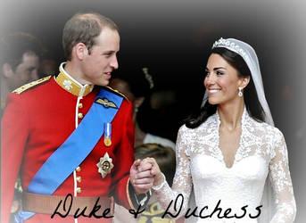 First Anniversary: Duke and Duchess by WaveSeeker90