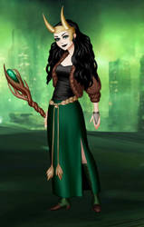 Dressup Doll: Lady Loki12 by fangirlMasquerade