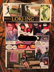 Loki'd comic box side 1