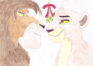 Christmas, with Kiara and Kovu