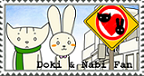 Doki and Nabi fan stamp by ZamieCat