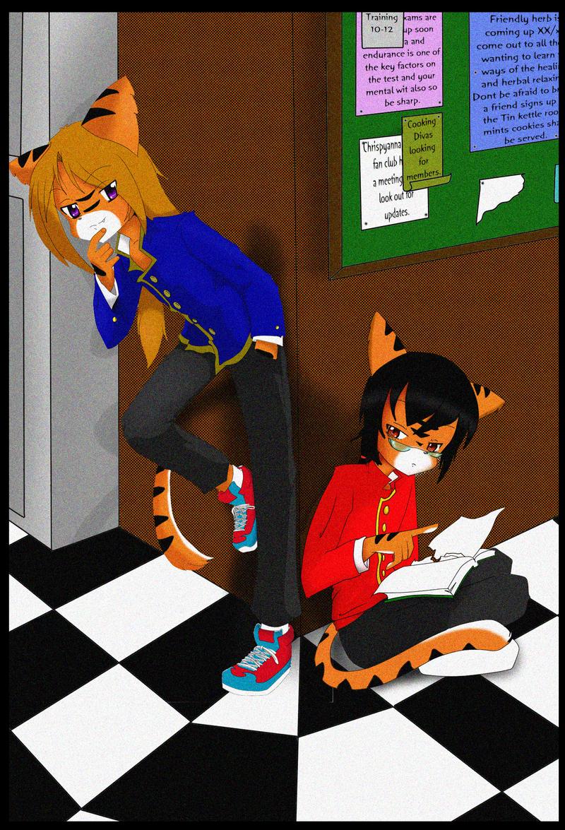 Lenard and Nardo by ZamieCat