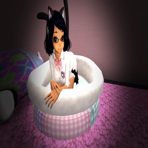 Kitty bed by ZamieCat