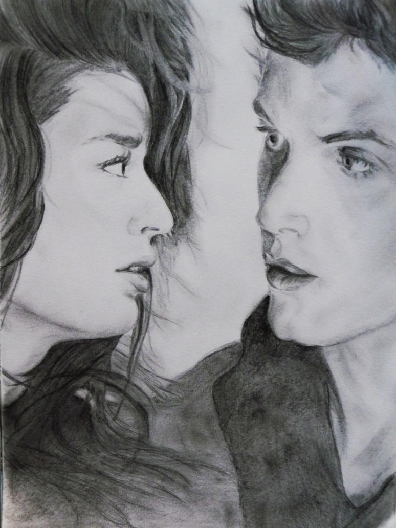 Allison Argent and Isaac Lahey by Silasaa on DeviantArt