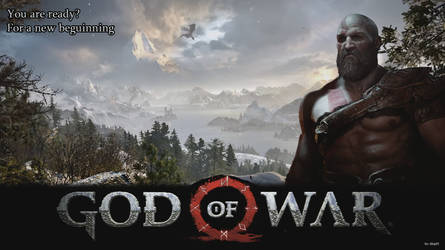 God of War (2017) by dfop02