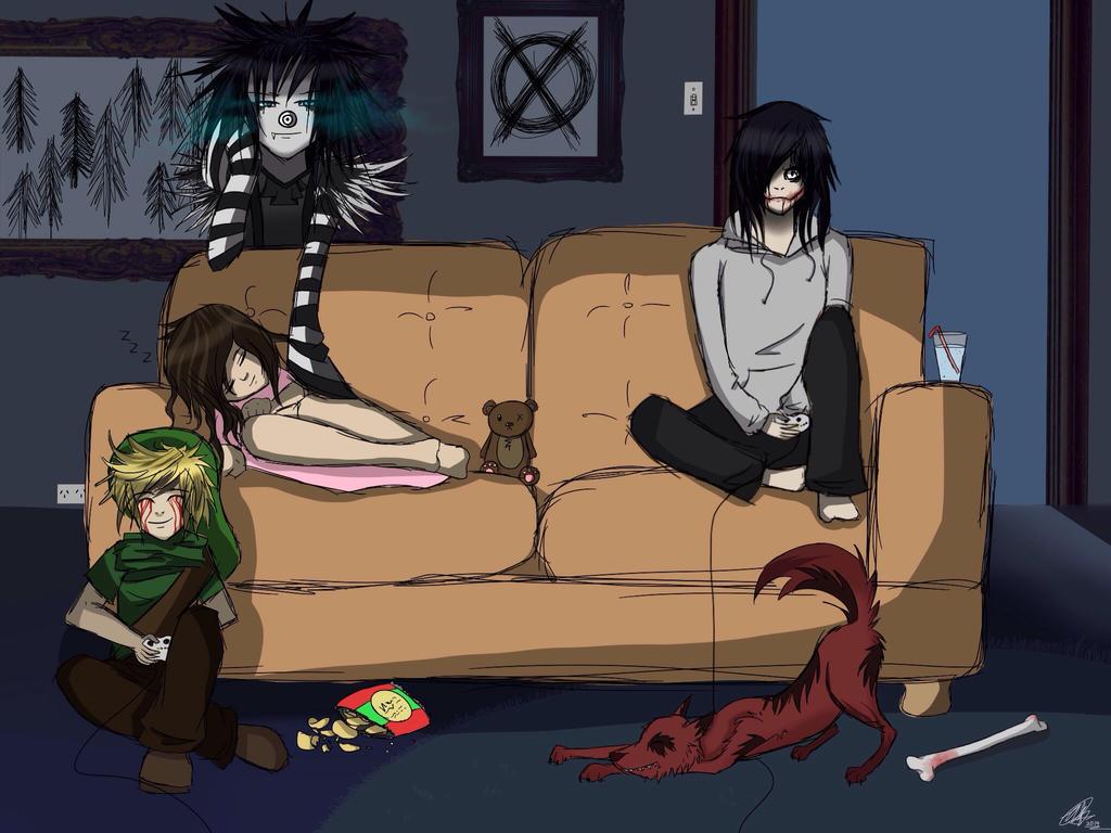 Anime Creepypasta Family Www Imgkid Com The Image Kid