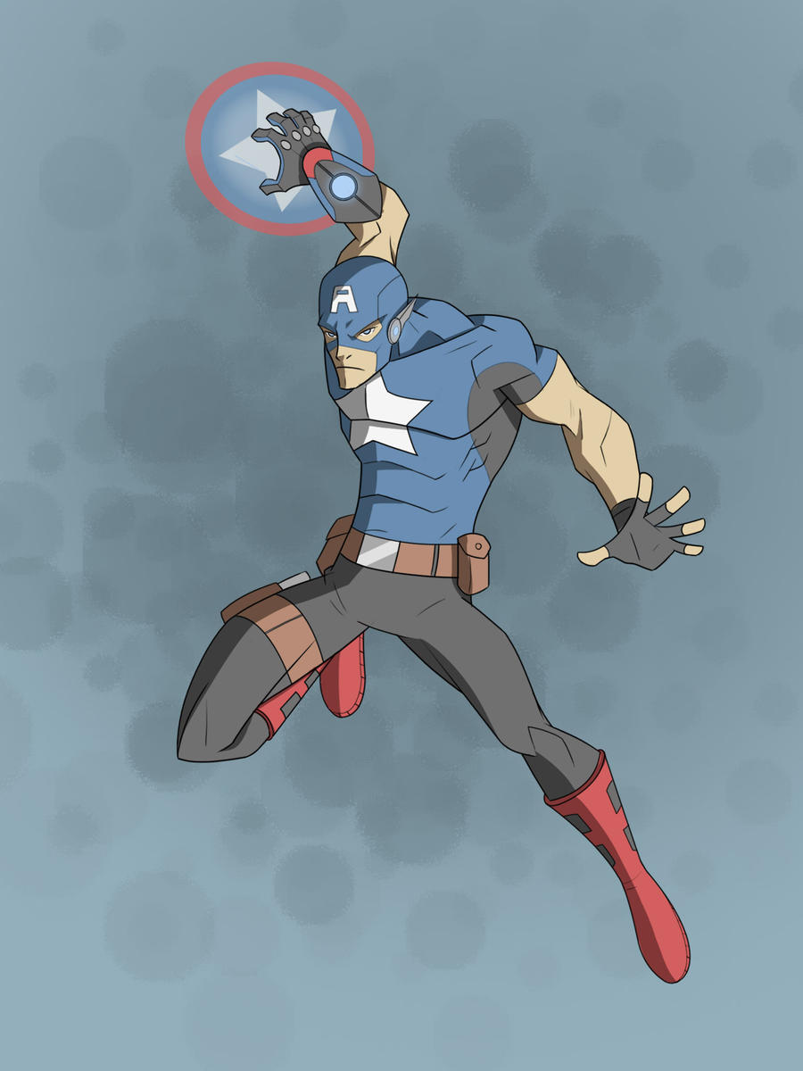 Captain America by COLOR-REAPER