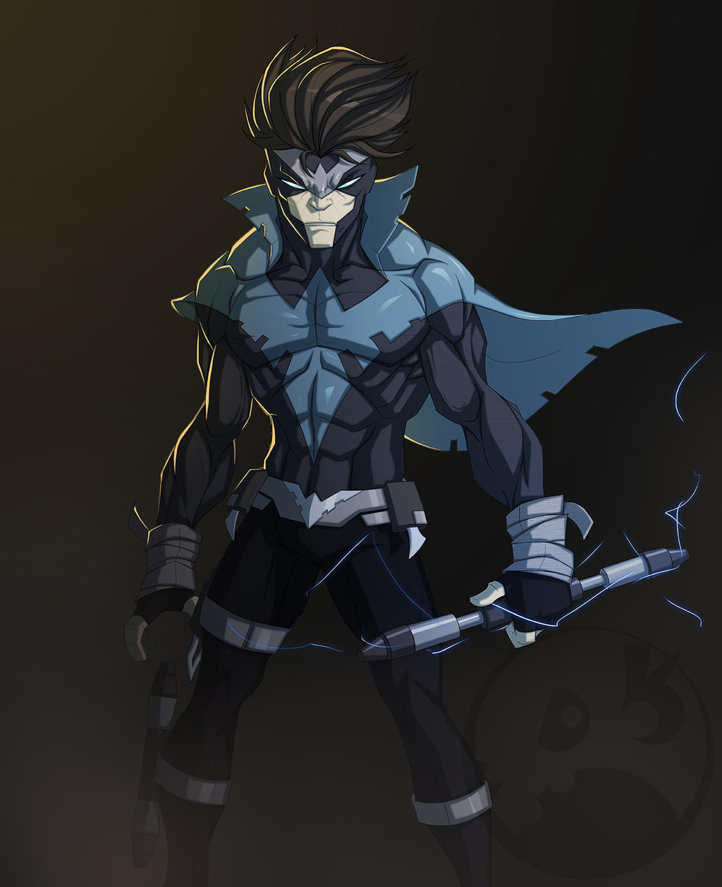 Nightwing Redesign by COLOR-REAPER