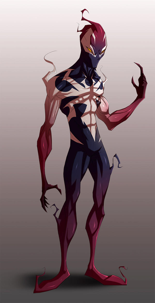 Spiderman - Ultimate Symbiote [WIP] by COLOR-REAPER on ...