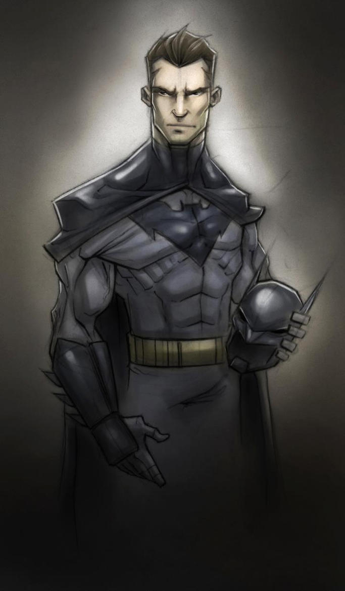Bruce Wayne by TheRedVampx1