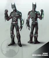 JLA - Batman II by COLOR-REAPER