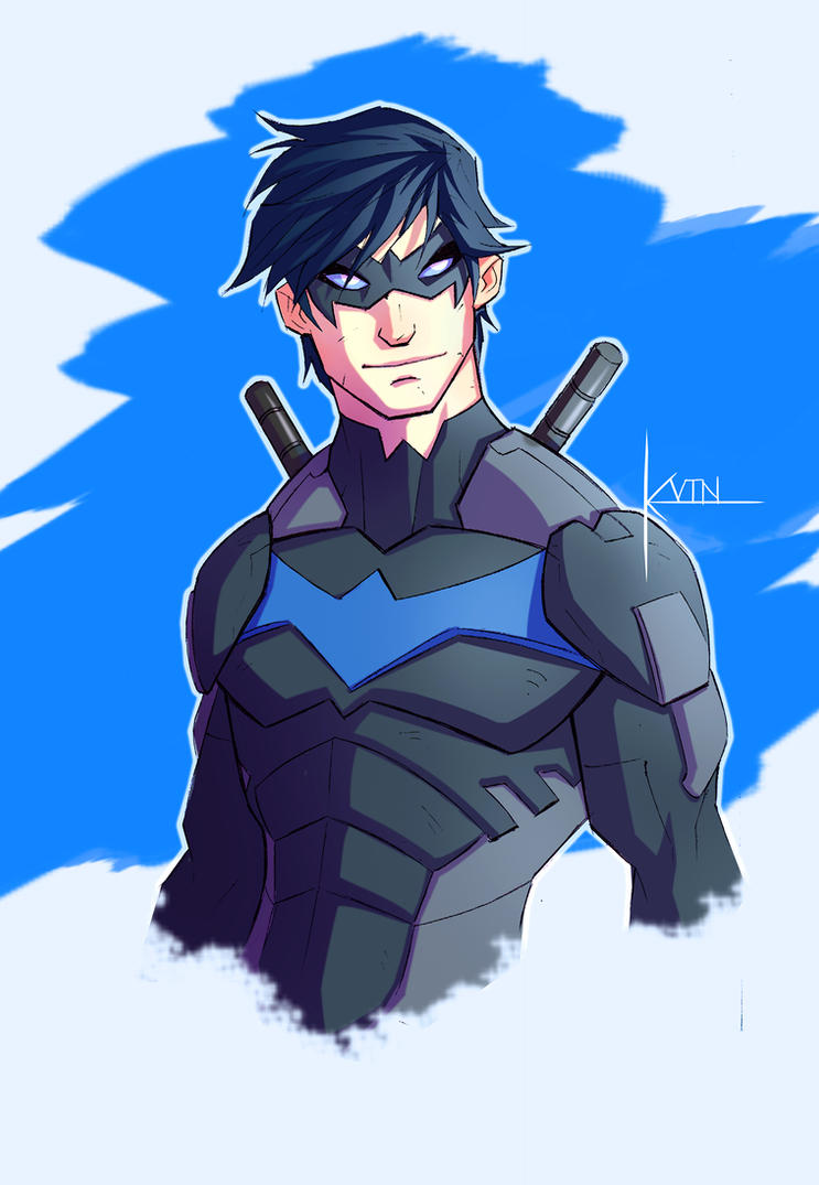 SOB: Nightwing by COLOR-REAPER
