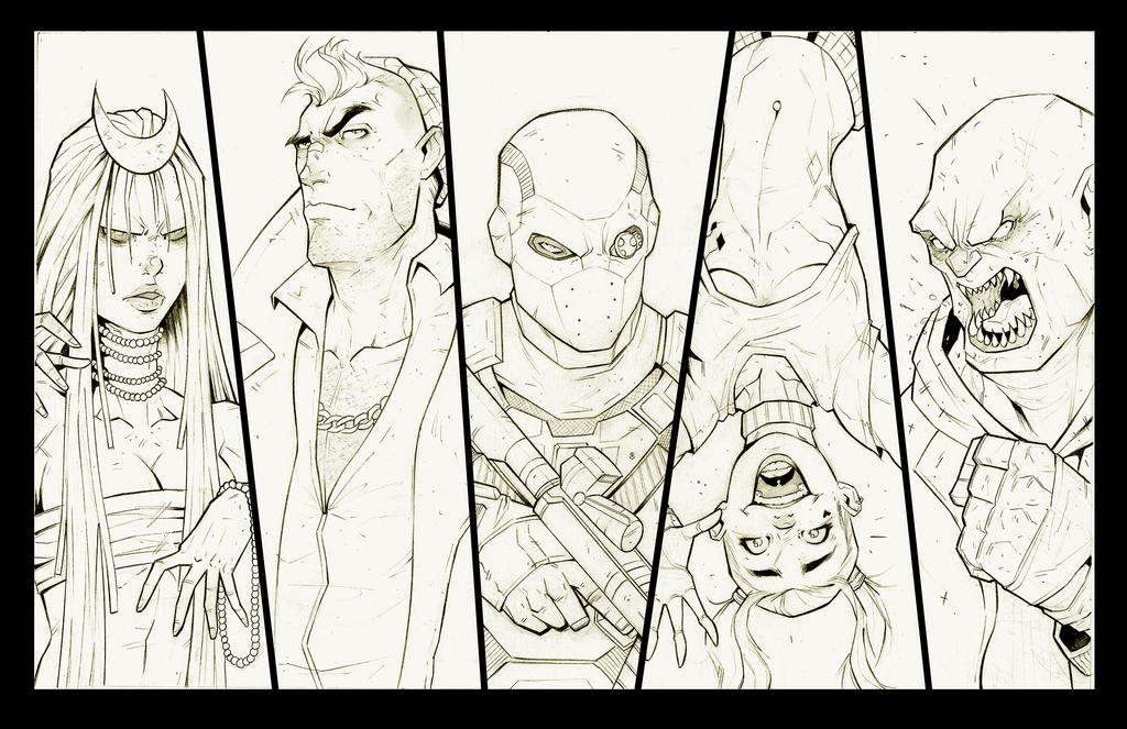 SUICIDE SQUAD 2016 by COLORREAPER