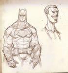 DC Cinematic - Batman and Joker