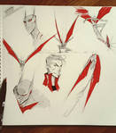Batman Beyond doodles