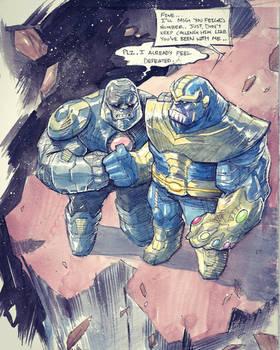 Thanos  Darkseid