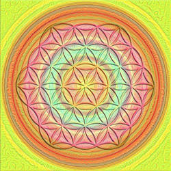 Flower of Life 3 by thealchemistchamber
