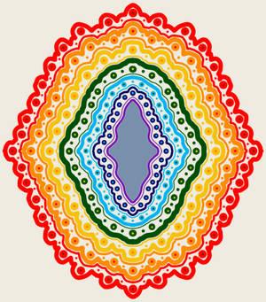 Rainbow Body Mandala