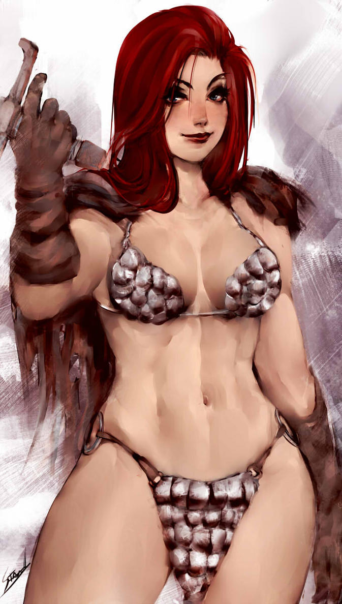 Red Sonja by OnishinX