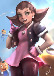 Tron Bonne72 by OnishinX