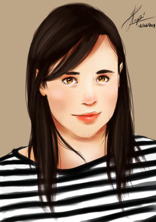 Ellen Page by WLimit