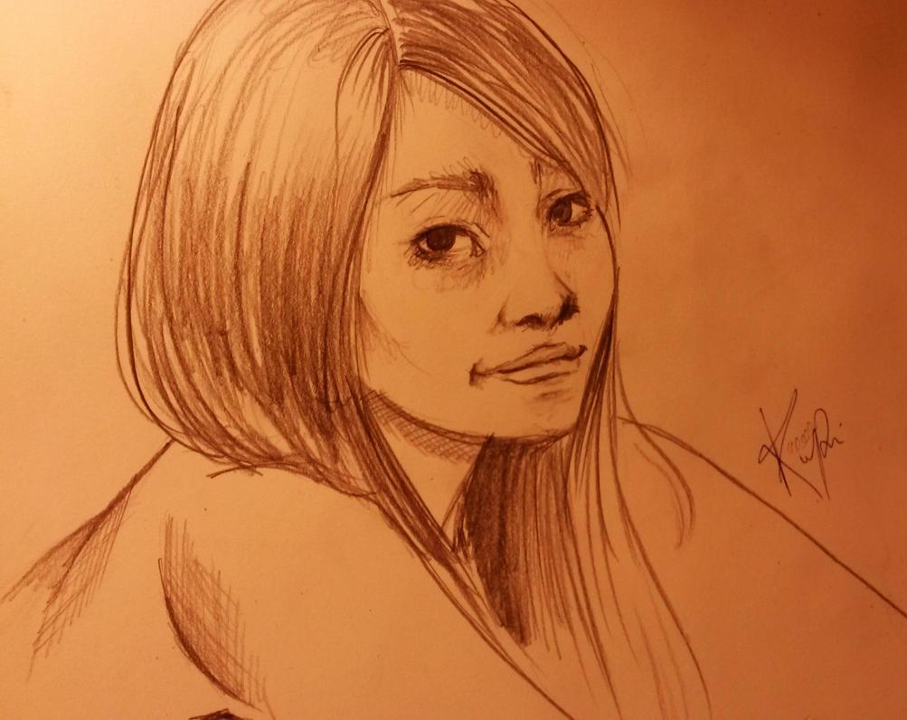 Self portrait by WLimit