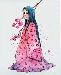 Princess Kaguya by WLimit
