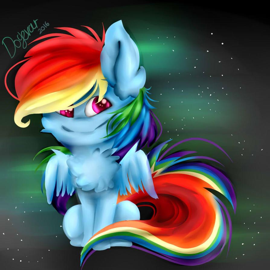 MLP - Rainbowdash by Renvae
