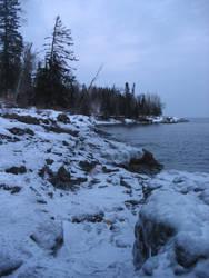Icy Shore 1 by deadeye-stock