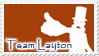 Team Layton stamp by MeiRenee