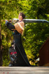 Lulu with Auron's Sword