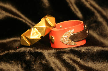 Custom Leather Cuff | Order on Etsy for $30!