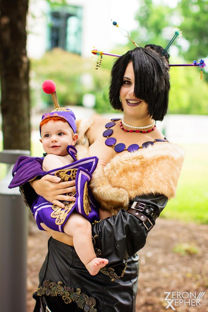 Lulu and Vidina | Final Fantasy X by Tarapotamus