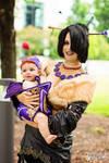 Lulu and Vidina   Final Fantasy X