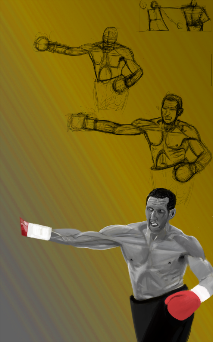 Anatomy of a punch WIP by SmashingAeon