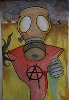 A is for Anarchy by ANSTADT