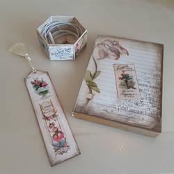French Garden Journal Kit Items
