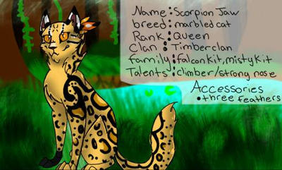 Entry for Amazonian claws  by SolinTheDragon