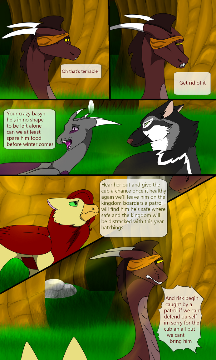 New dawn page 27 by SolinTheDragon