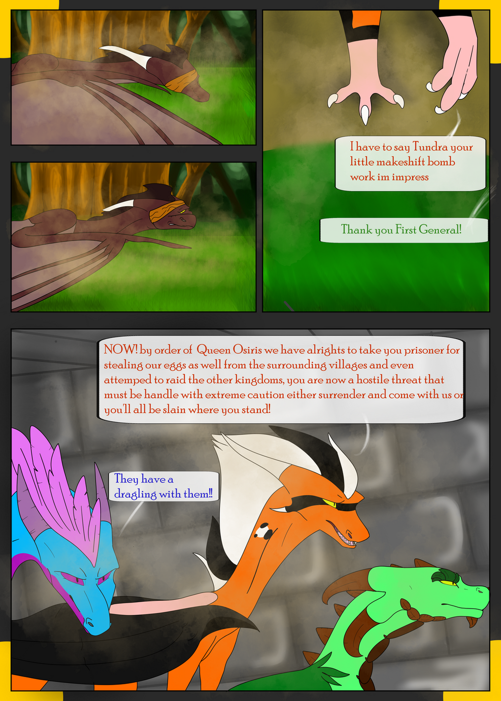 New Dawn Page 29 by SolinTheDragon