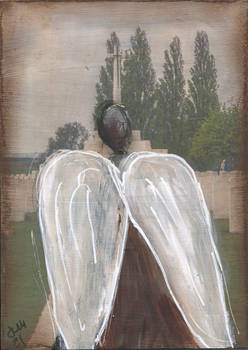 Tyne Cot Angel