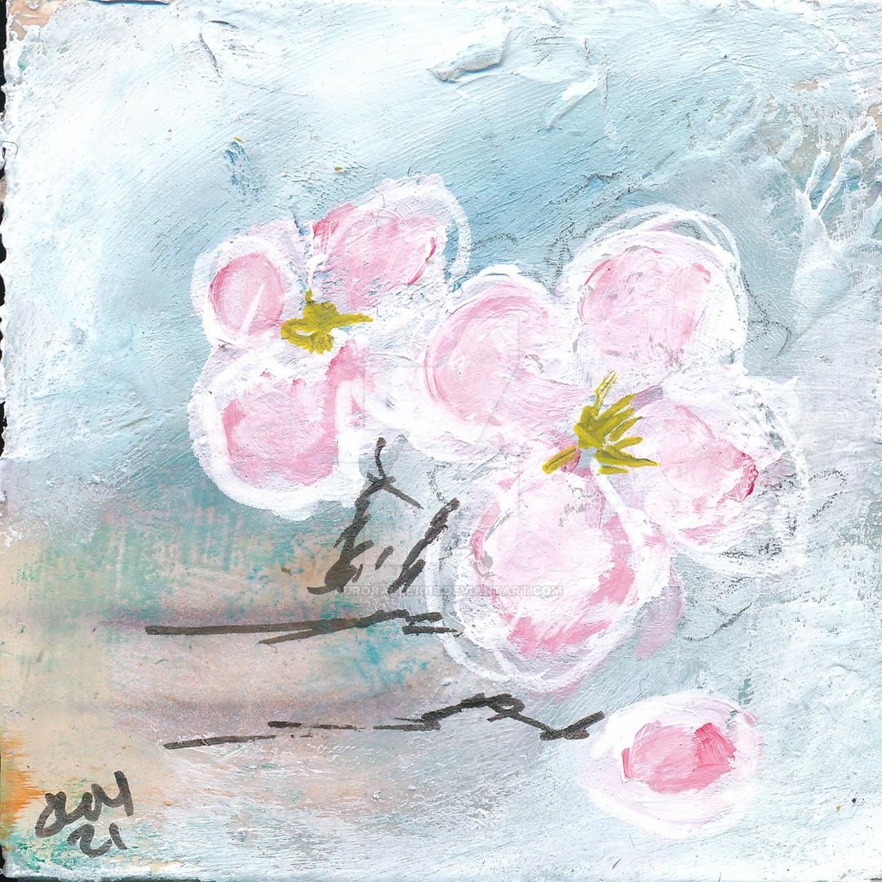Apple Blossom No. 8