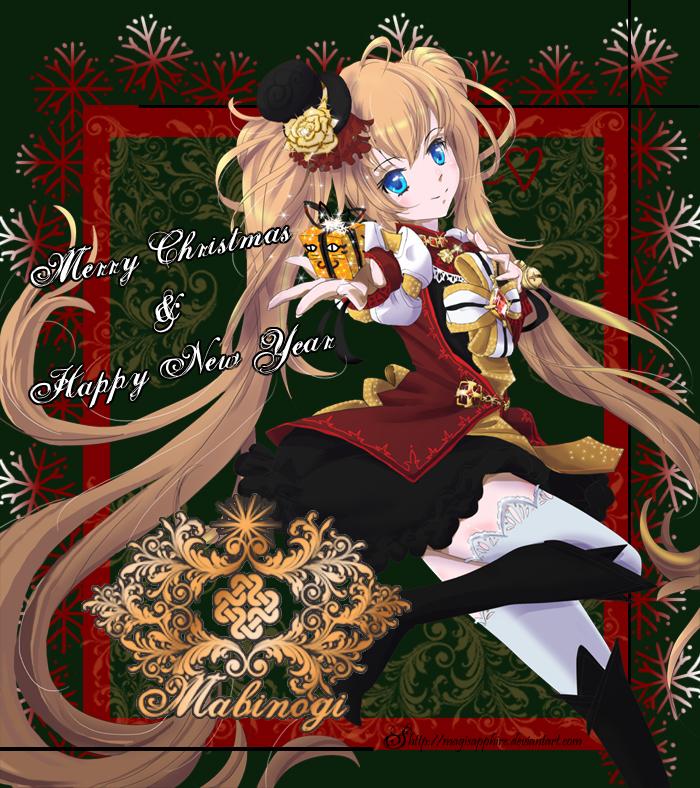 Mabinogi Christmas 2020 Mabinogi Merry Christmas by magisapphire on DeviantArt