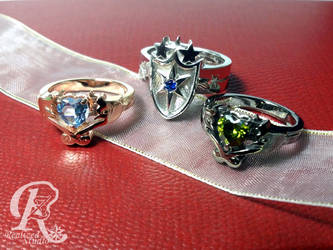 MLP This Day Aria rings set 01307TDA