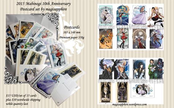 Mabinogi Postcard set by magisapphire