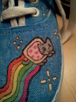 Nyan Cat Shoes
